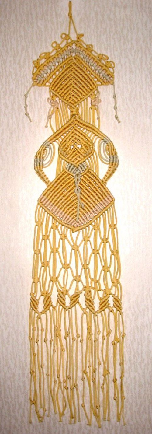 "MACRAME                                            PC  Macrame portrait ""The Girl"" by ketklad"