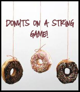 donuts on a string game did it for jakes 11th and the kids had so