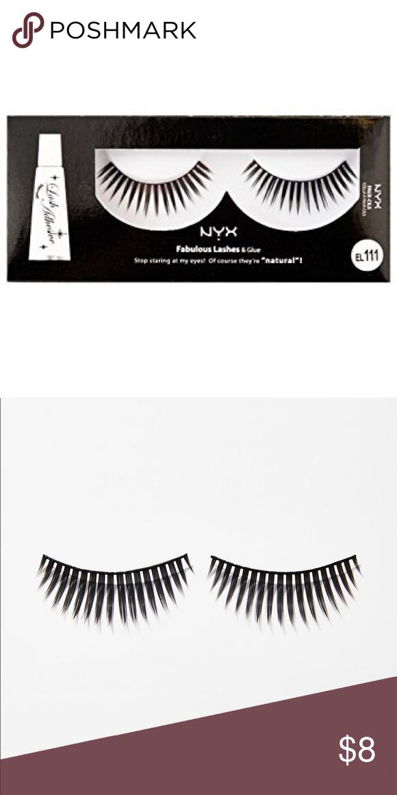 3b12c9627d9 NYX False EyeLashes Extensions Long, reusable false eyelash extensions new  & unopened. These lashes