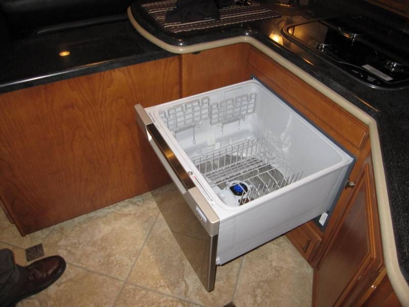 Hereu0027s A Drawer Style Dishwasher Installed In A Winnebago. Perfect For The  Tiny House