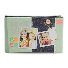 Let's get personalized>>>Cosmetic Bag (Large)