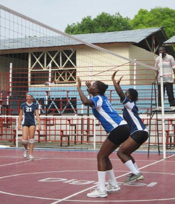 Volleyball In Haiti Supported By Starlings Volleyball Clubs Usa Director Byron Shewman Volleyball Clubs Byron Volleyball