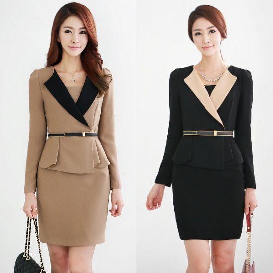 Aliexpress.com : Buy 2013 spring work wear women ol elegant V neck ...