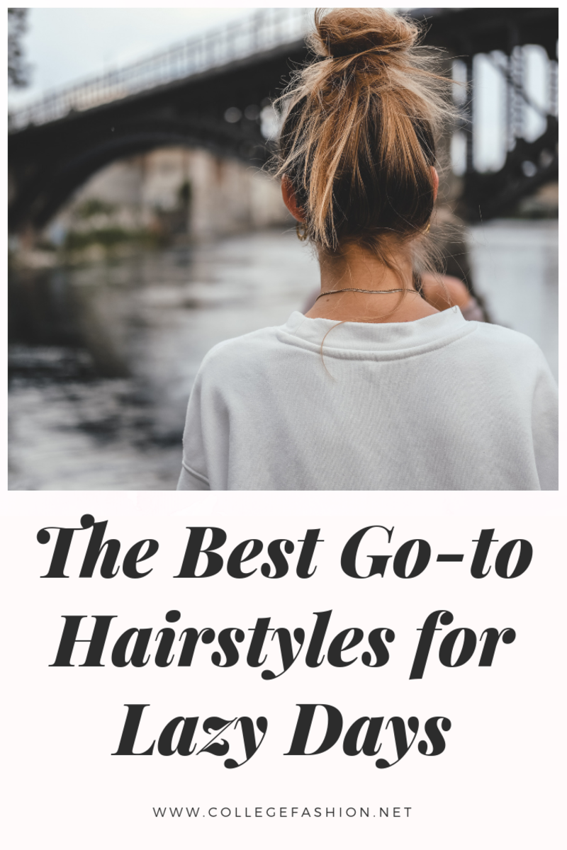 easy lowmaintenance hairstyles for lazy days beautyhair ideas