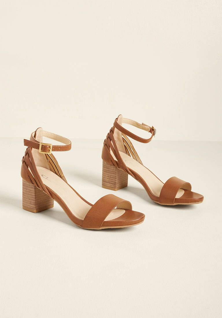 eada3a165 Control-Alt-Elite Block Heel Sandal in 9 - Low Heel - Over 1 -2