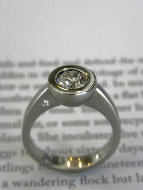 J's bezel cup ring…