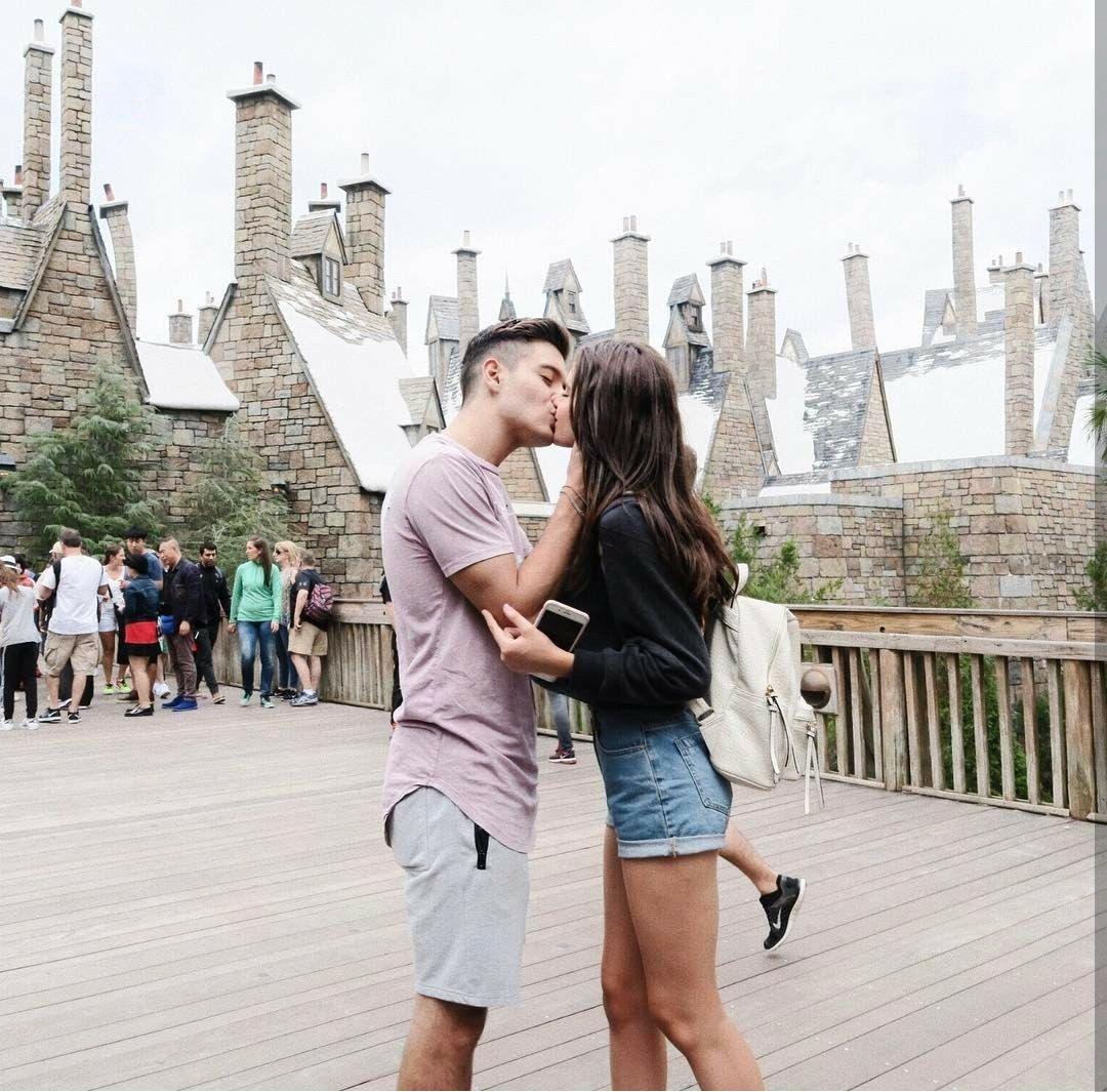 / A R Y A / / gabriel conte, jess conte, elegant romance, cute couple, relationship goals, prom, kiss, love, tumblr, grunge, hipster, aesthetic, boyfr…