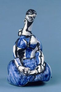 Pablo Picasso  femme-agenouillee  (1950 ) Coll.Musee national Picasso - Paris