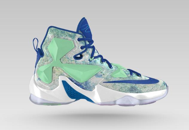 buy popular fb0b8 2667f Nike LeBron 13 iD 2