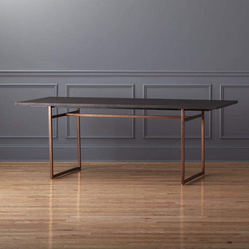 anezi dining table Wood grain Minimalist and Woods