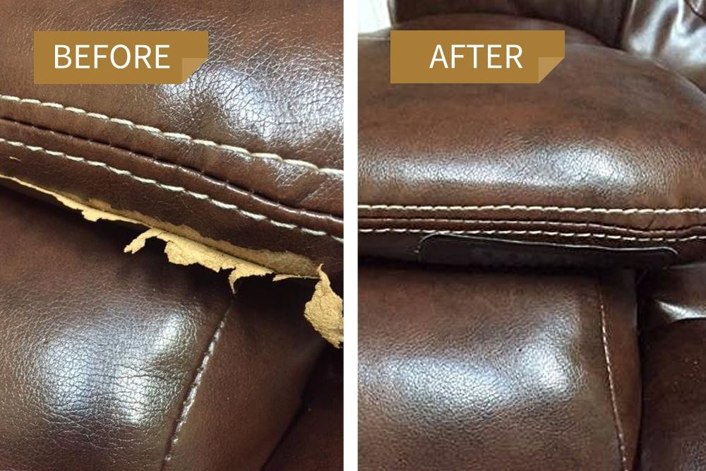 Leather Repair Kit Gallery | Leather repair, Leather sofa ...
