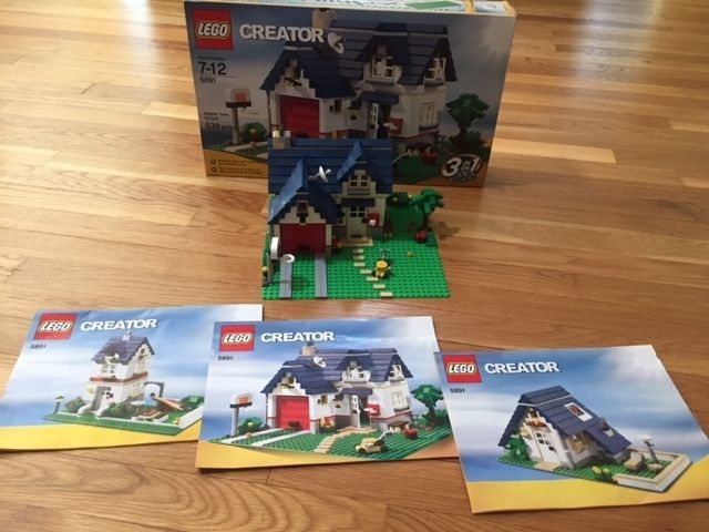 Lego Creator Apple Tree House 5891 Complete Set With Box 3