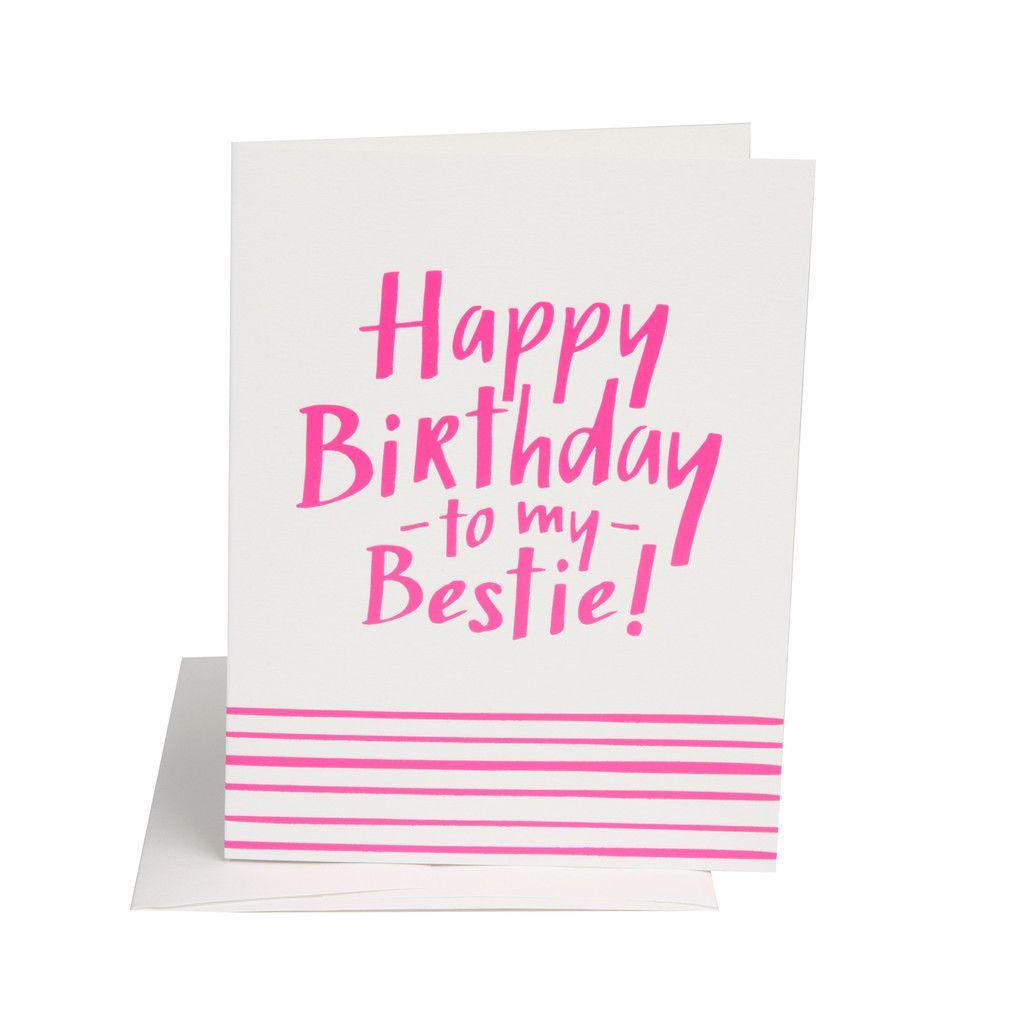 birthday bestie   happy birthday bestie, happy birthday