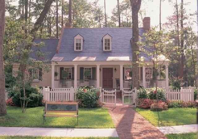William E Poole Designs Battery Creek Cottage Cottage Homes House Plans Farmhouse Farmhouse House