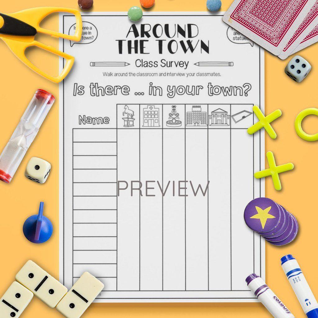 Around The Town Class Survey