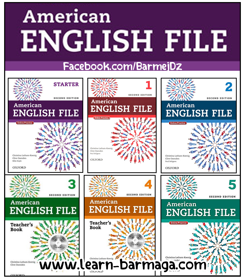 تحميل American English File Full Teacher Books American English English File