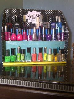 Nail polish rack canada best nail designs 2018 beauty box canada diy nail polish rack do it yourself solutioingenieria Images
