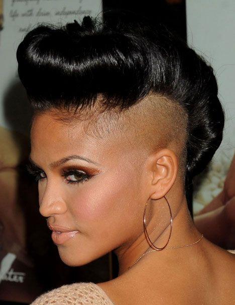 50 Mohawk Hairstyles For Black Women Mohawk Hairstyles Short