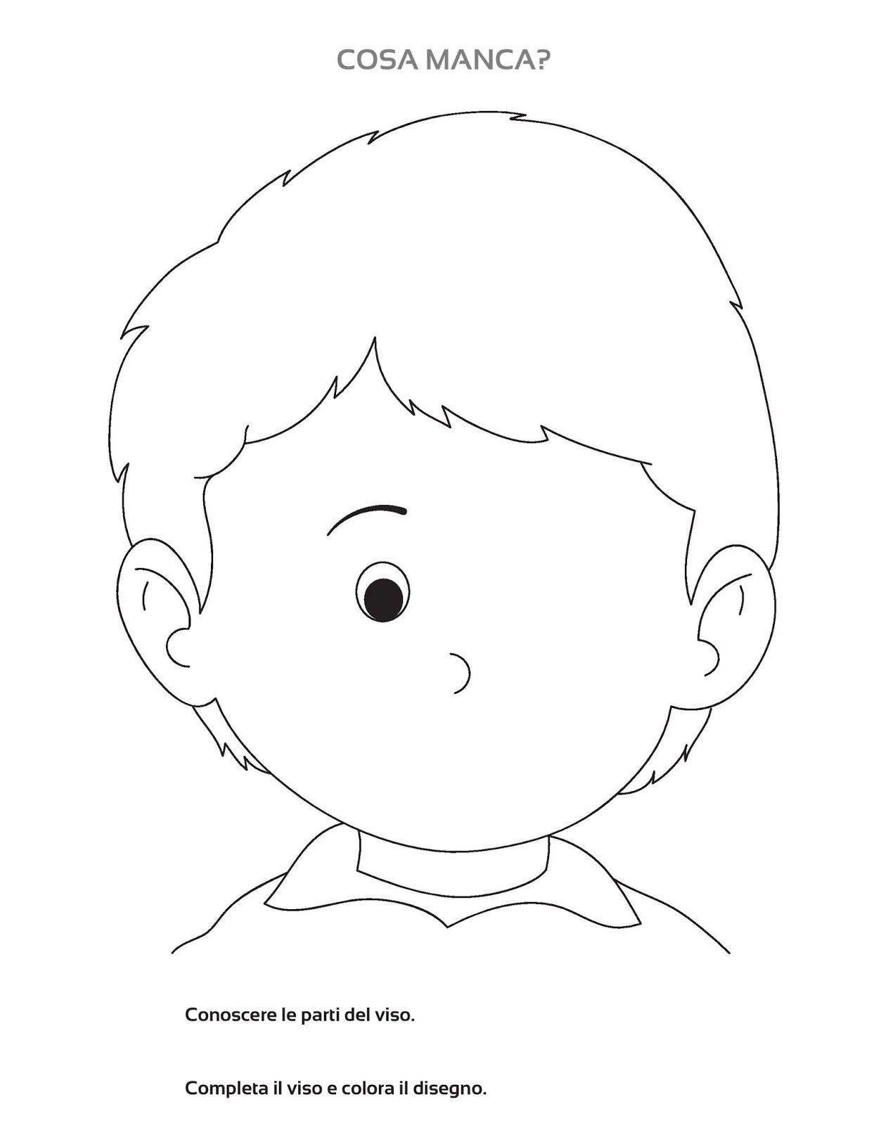 Schede didattiche scuola infanzia corpo umano ig76 for Schede didattiche natale scuola infanzia