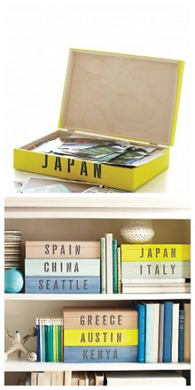 Photo of Travel Keepsake Boxes