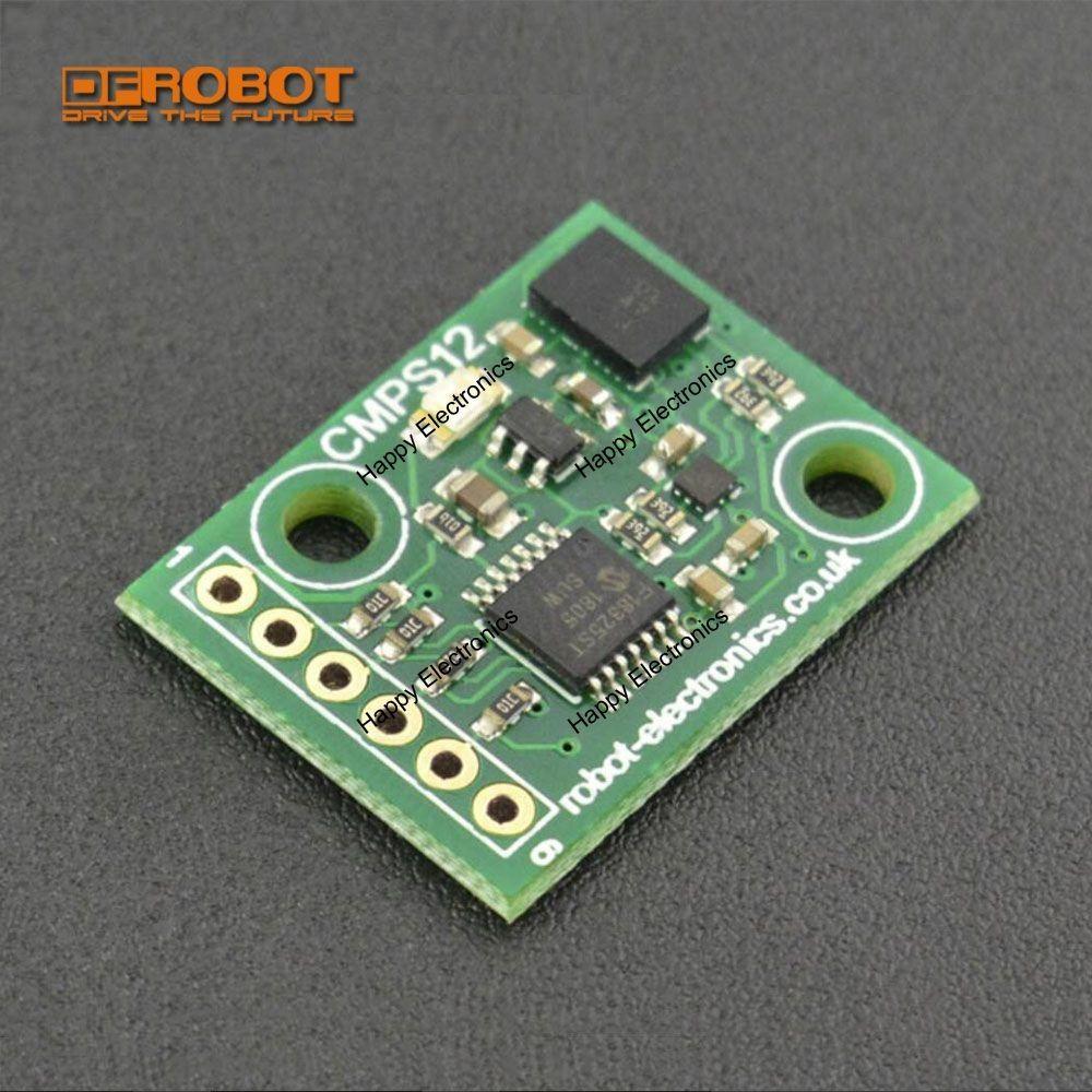 DFRobot Tilt Compensated Magnetic Compass CMPS12, 3 3~5v