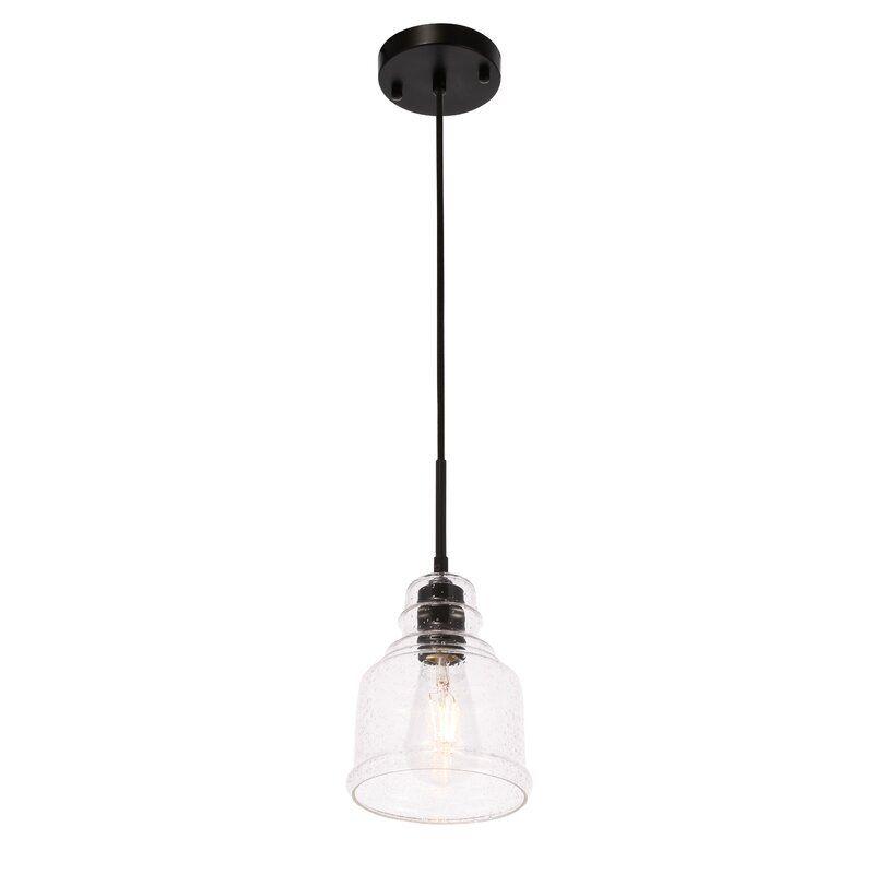 Breakwater Bay Savala 1 Light Single Bell Pendant Reviews Wayfair Rustic Style Light Pendant Lighting Light Bulb Types