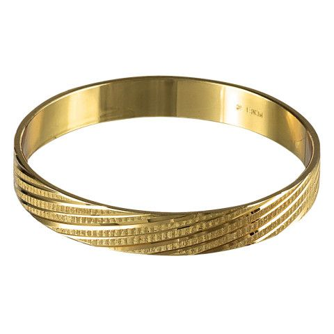 Vintage Monet Gold Bangle kalyani Pinterest Gold bangles