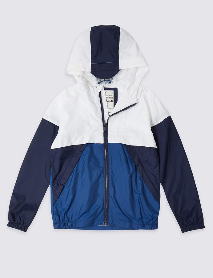 23d73cf39c Marks and Spencer Colour Block Windbreaker Jacket (3-16 Years ...
