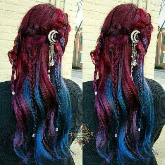 52 Ombre Rainbow Hair Colors To Try 2: Pin By Summer Victoria Demery On HAIR :COLOR
