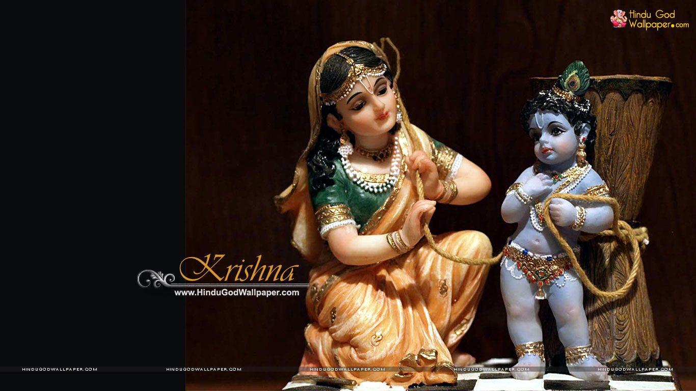 Beautiful Bal Krishna Murti Hd Wallpaper Download God Pinterest