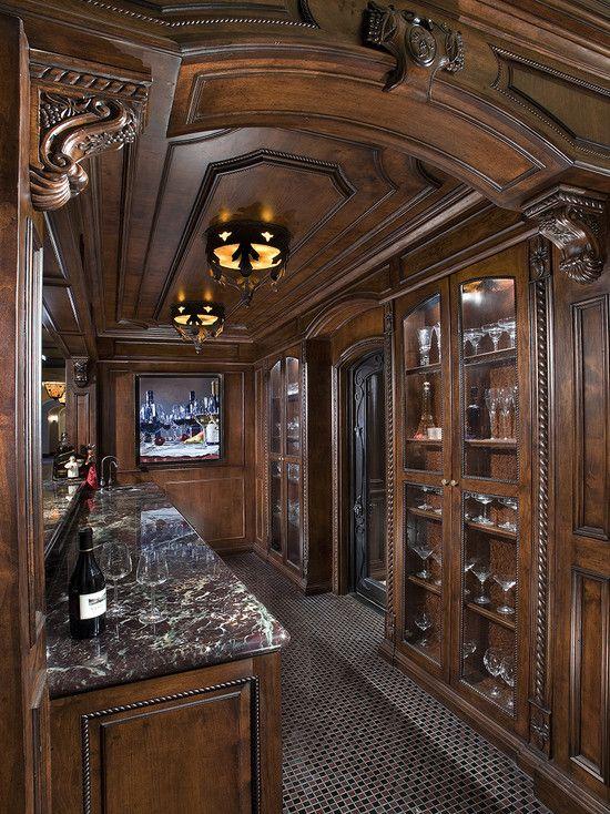 Bess Jones Interiors\'s Design, Western Design Glamour | wet bar ...