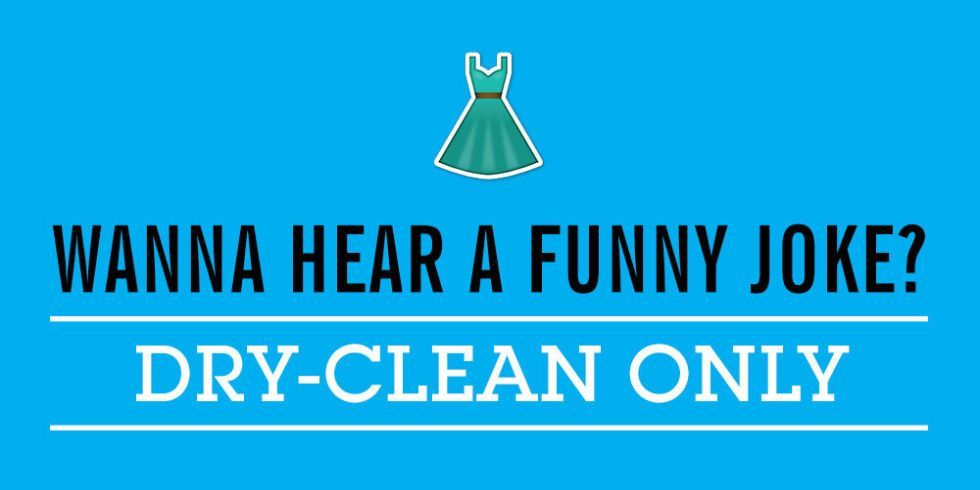 Dry-cleaning is not always the best option.