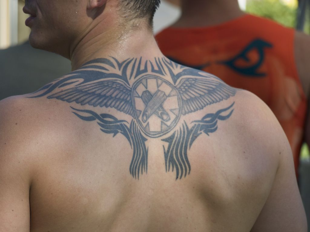 Male Wings Tattoo Placement Google Search Angel Back Tattoo