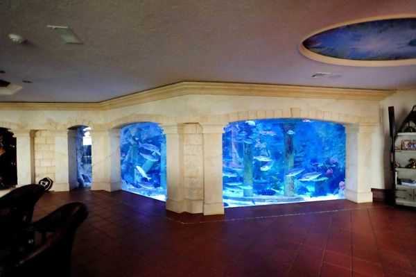 This is one of the coolest things i have ever seen that for Custom made fish tanks