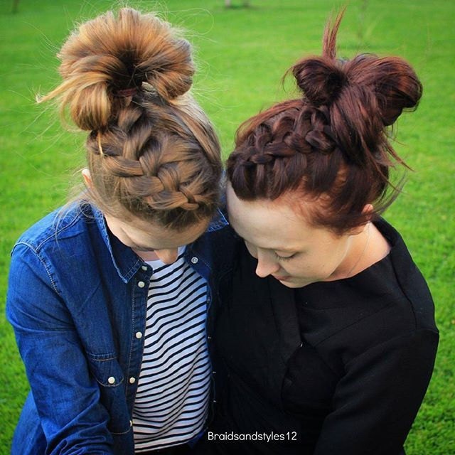 Braidsandstyles12 Messy Plaits Messy Buns And Diy Hair