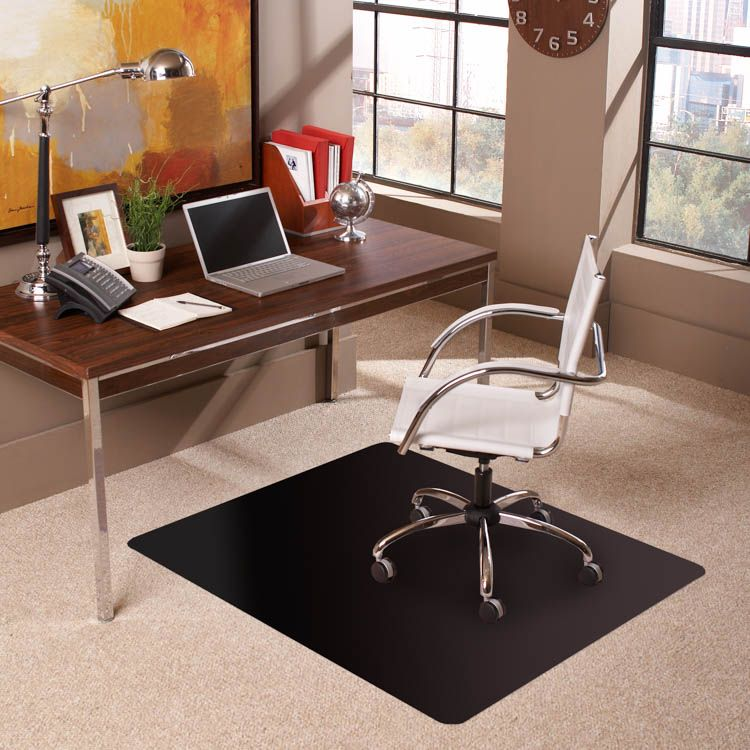 """36"""" x 48"""" Chair Mat for Low Pile Carpet by ES Robbins"""