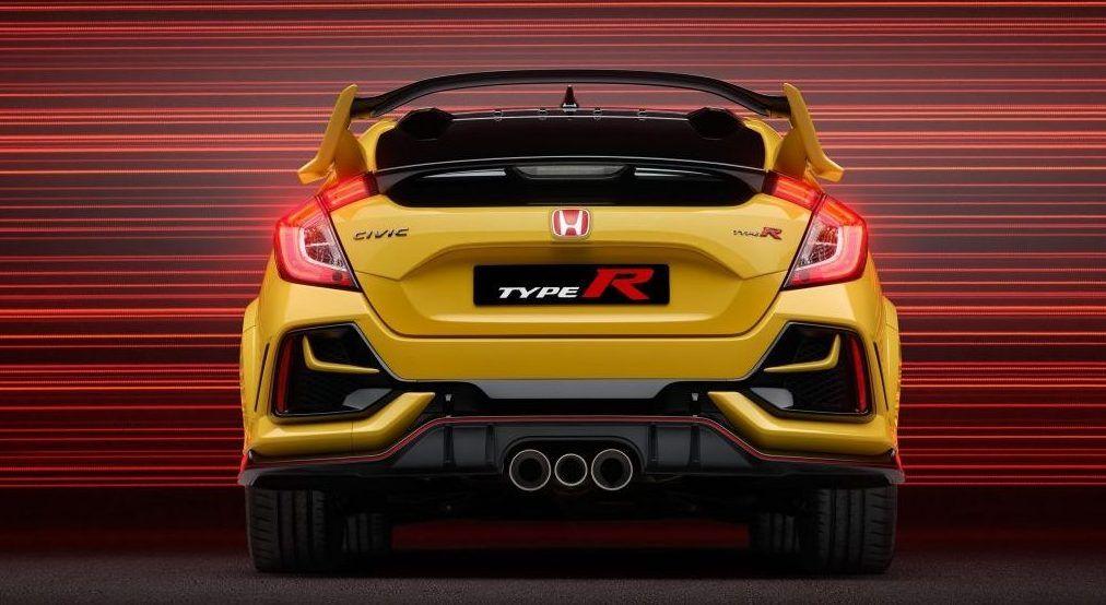 Η Honda επεκτείνει τη γκάμα του Civic Type R με την