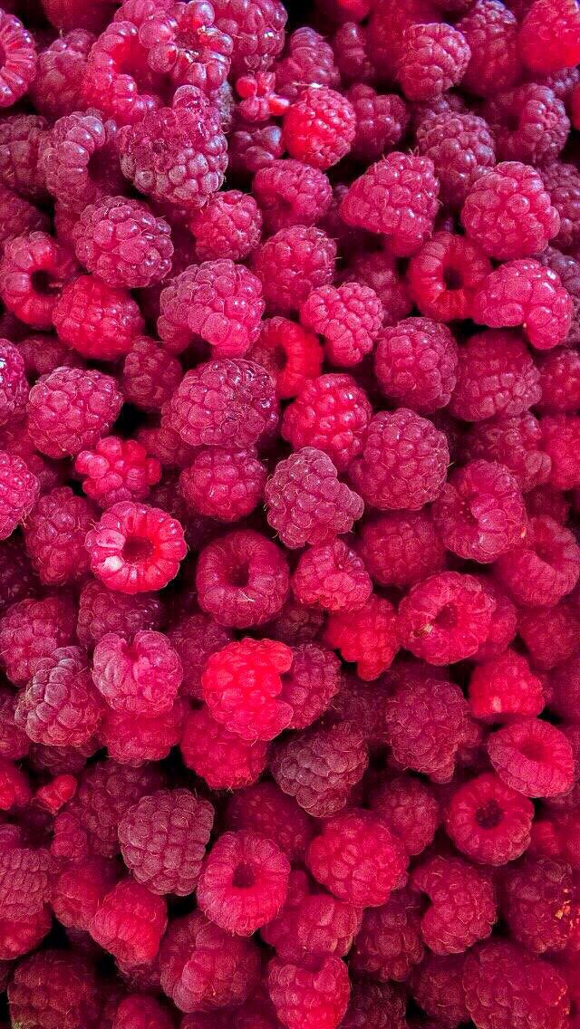 Fresh raspberries iphone 5s wallpaper iphone se for Papeis paredes iphone 5s