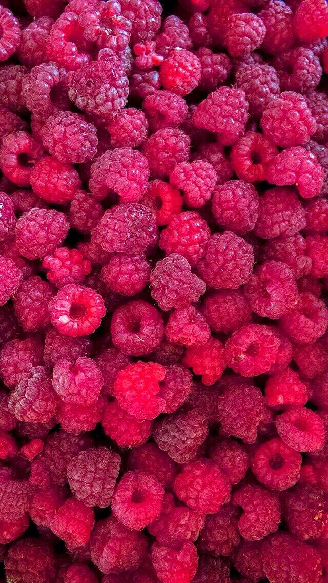 Fresh Raspberries iPhone 5s wallpaper iPhone SE
