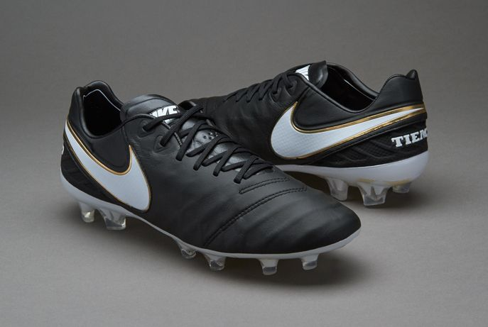 bb725bfda8363 Nike Tiempo Legend VI FG - Black White Black Metallic Gold