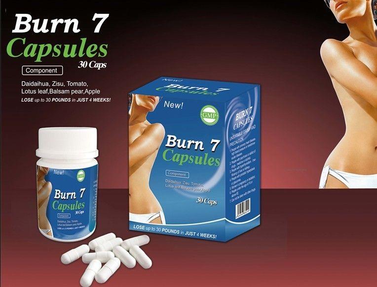 Burn 7 Slimming Capsule Botanical Slimming Capsule For Weight