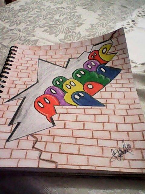 Graffitis A Lapiz Graffitis A Lapiz Dibujo Hippie Dibujos Tristes A Lapiz