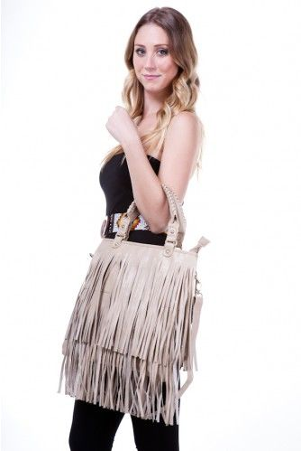 If this fringe bag were in black, I would be all over that!