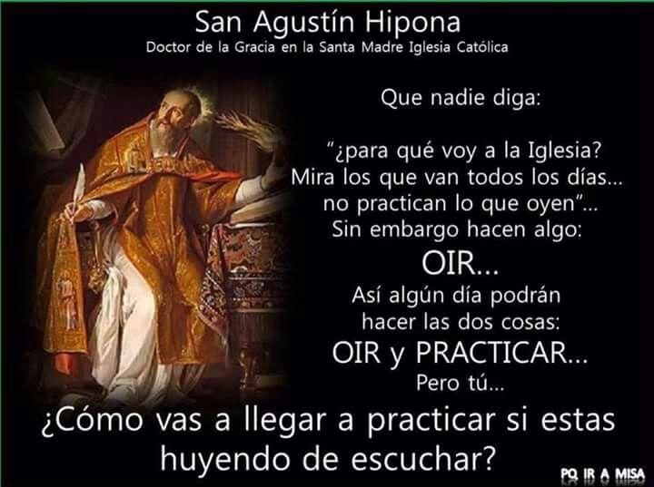 San Agustín Hipona Frases De San Agustín Frases De Santos