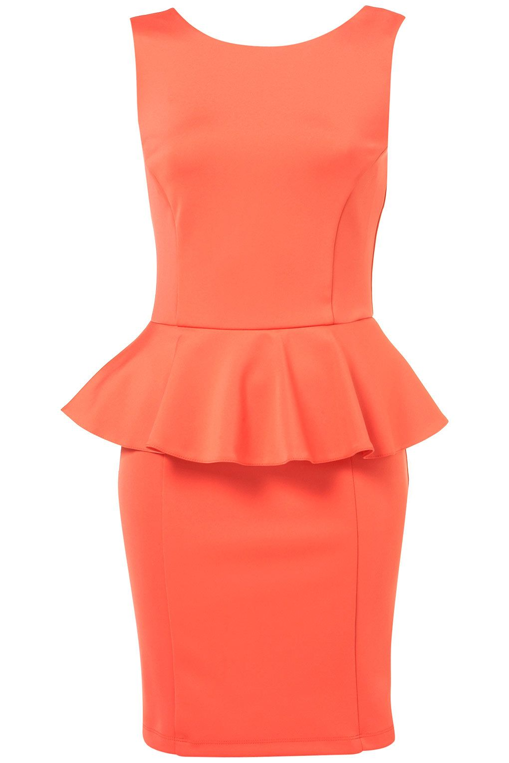 I think the peplum waist would be flattering on a body shape that
