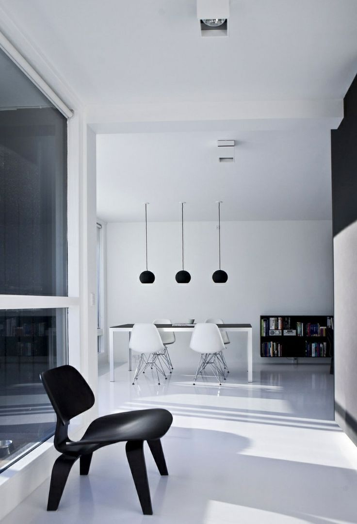 Copenhagen Penthouse II by Norm Architects: Charles & Ray Eames, LCW ...
