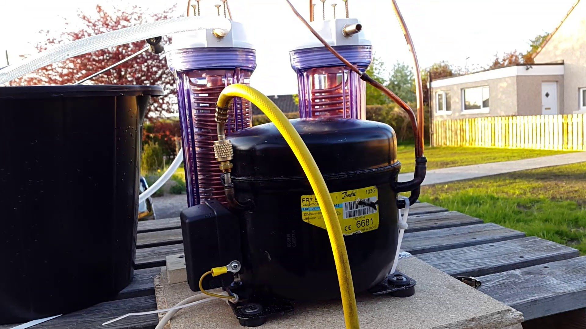 Building a glycol chiller with images home brewing