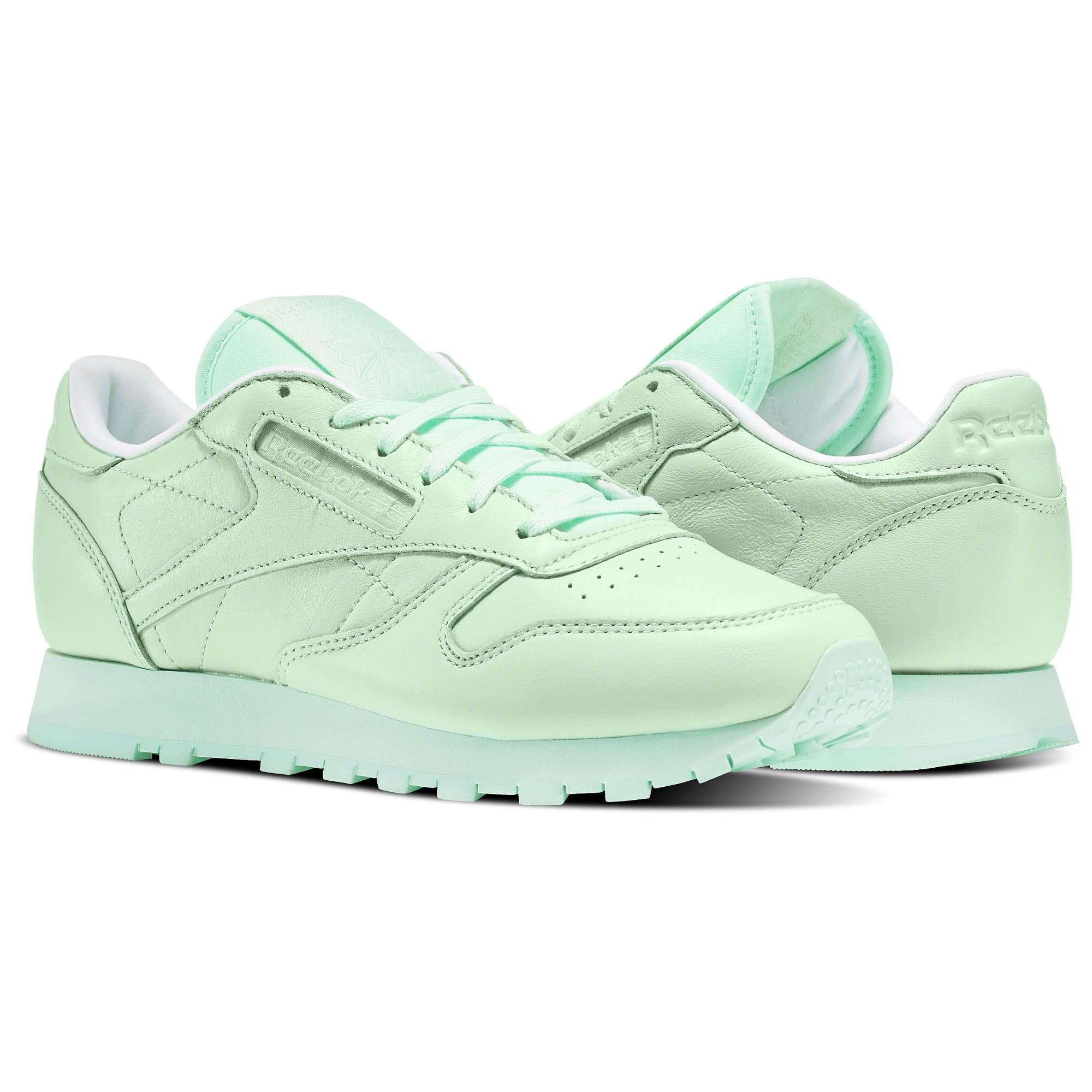 Reebok Classic Leather Spirit shoes turquoise
