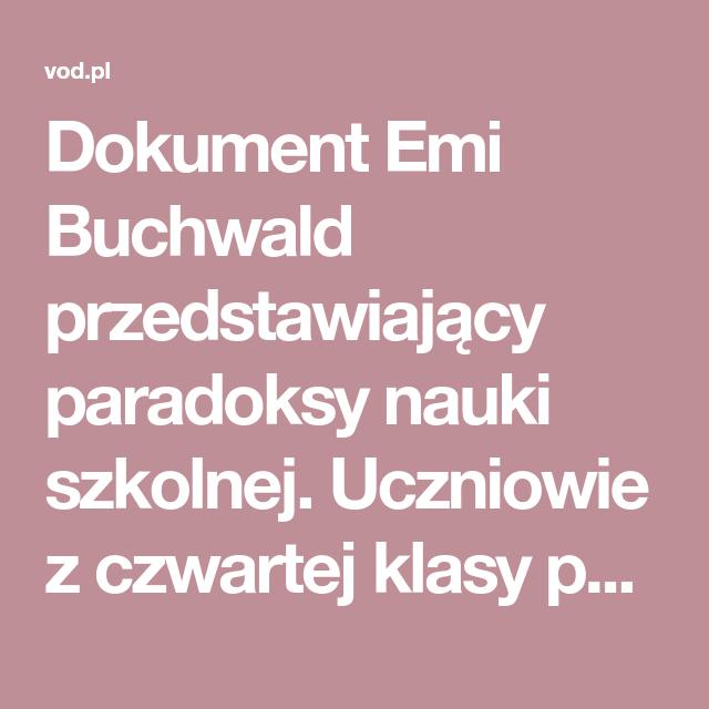 Dokument Emi Buchwald Przedstawiający Paradoksy Nauki