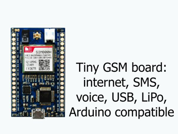 MicroLink is like a tiny Arduino with GSM | Device | Ардуино
